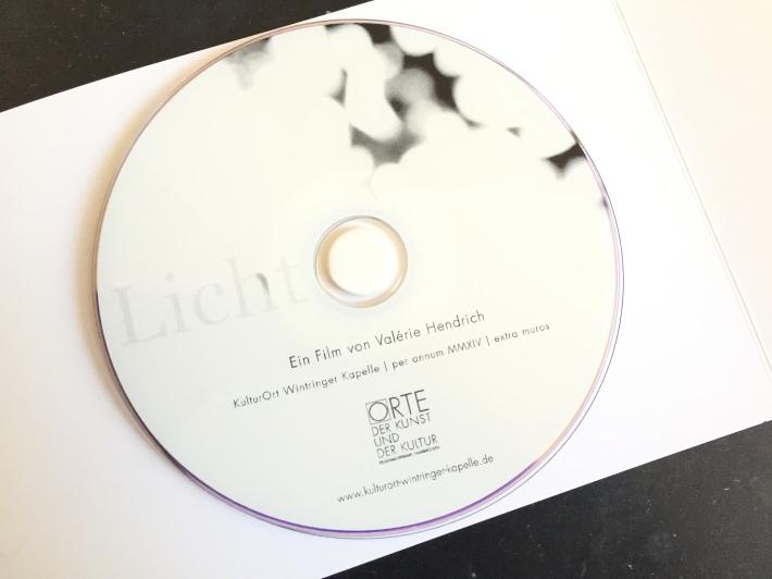 DVD, Kurzfilm LICHT, 2014, Copyright  Valérie Hendrich